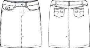 denim-skirt